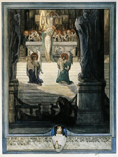 And Meet it Is Thou Know That All are Blest with Joy Deeoer as their Eyes Discern, Paradiso-Dante Alighieri-Giclee Print