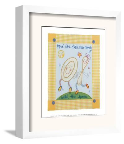 And the Dish Ran Away-Sophie Harding-Framed Art Print