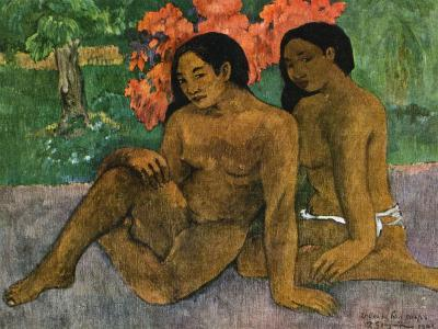 And the Gold of their Bodies, 1901-Paul Gauguin-Giclee Print