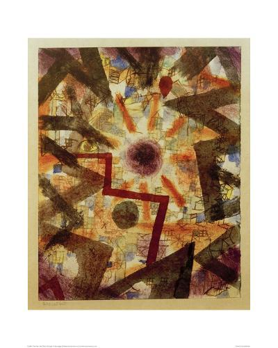 And There Was Light-Paul Klee-Giclee Print