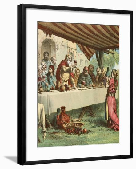 And They Began to Be Merry--Framed Giclee Print