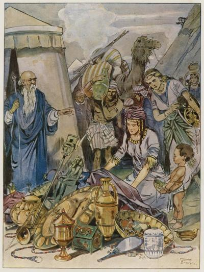 And They Came Both Men and Women, as Many as Were Willing-Hearted, and Brought Offerings-Tony Sarg-Giclee Print