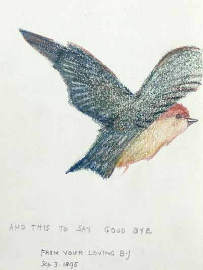 And This to Say Good Bye', 1895-Edward Burne-Jones-Giclee Print