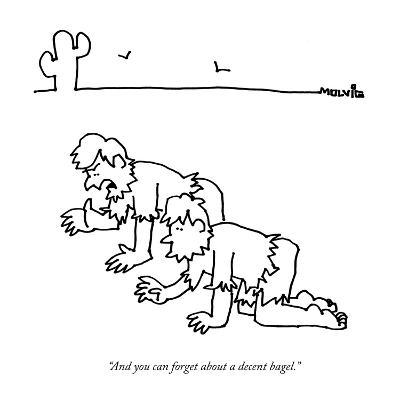 """""""And you can forget about a decent bagel."""" - New Yorker Cartoon-Ariel Molvig-Premium Giclee Print"""