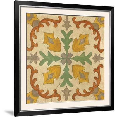 Andalucia Tiles I Color-Silvia Vassileva-Framed Photographic Print