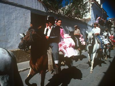 Andalusian Fair, Fuengirola, Andalusia, Spain--Photographic Print