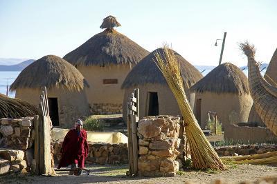 Andean Eco-Village Inca Utama, Lake Titicaca, Huatajata, Bolivia-Kymri Wilt-Photographic Print