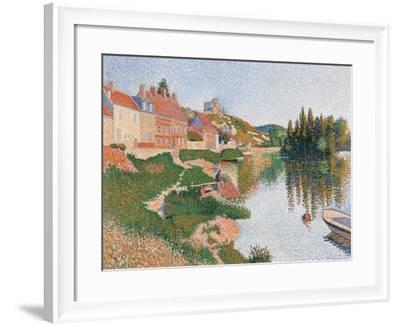 Andelys-Paul Signac-Framed Art Print