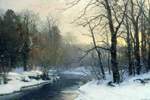 The Woods in Silver and Gold by Anders Andersen-Lundby