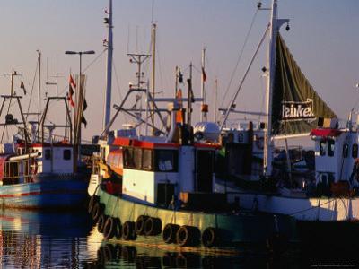 Boats in Village Harbour, Torekov, Skane, Sweden