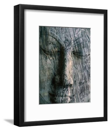 Face of 14M Long Reclining Image of Buddha, Polonnaruwa, North Central, Sri Lanka