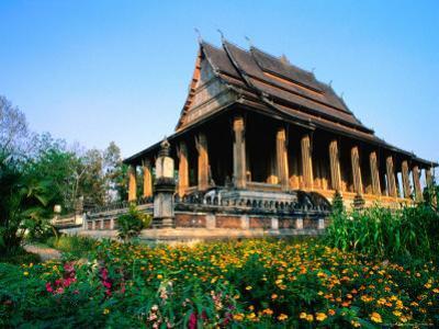 Haw Pha Kaew (Hall of the Jewel Buddha Image), Vientiane, Vientiane Prefecture, Laos