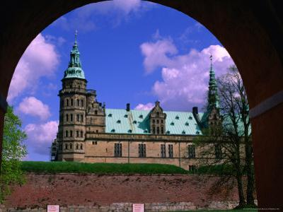 Kronborg Castle Built in the 16th Century, Helsingor, Frederiksborg, Denmark