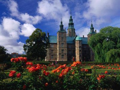 Rosenborg Castle and Gardens, Copenhagen, Denmark