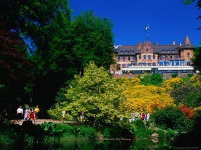 Sofiero Castle, Former King Gustav VI Adolf's Summer Residence, Helsingborg, Skane, Sweden