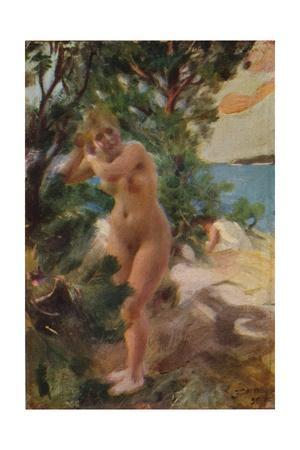 'After the Bath', 1895