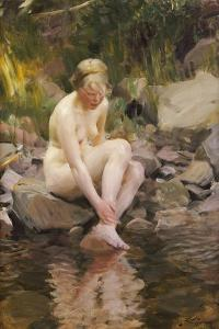Dagmar, 1911 by Anders Leonard Zorn