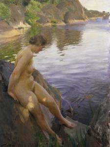 From Sandham by Anders Leonard Zorn