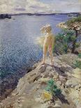 Nudes Swimming in a Lake-Anders Leonard Zorn-Giclee Print
