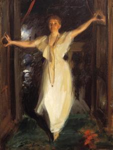 Isabella Stewart Gardner in Venice, 1894 by Anders Leonard Zorn