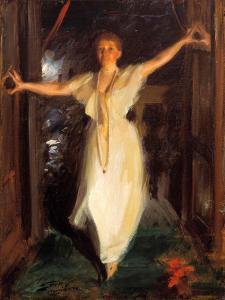 Isabella Stewart Gardner in Venice by Anders Leonard Zorn
