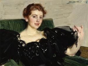 Lucy Turner Joy, 1897 by Anders Leonard Zorn