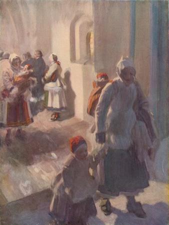 'Matins on Christmas Day', c1912