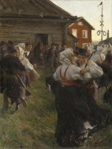 Midsummer Dance, 1897 by Anders Leonard Zorn