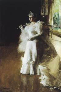 Mrs. Potter Palmer, 1893 by Anders Leonard Zorn