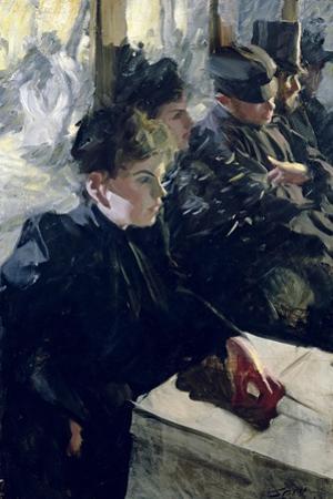 Omnibus I, 1895 by Anders Leonard Zorn