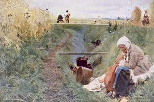 Our Daily Bread, 1886 by Anders Leonard Zorn