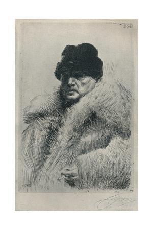 'Self-Portrait', 1916