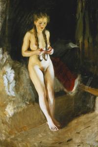 Signe, 1912 by Anders Leonard Zorn