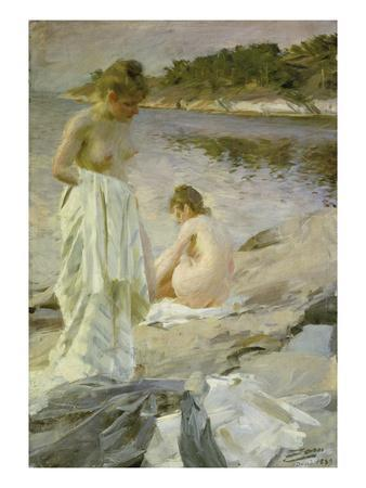 The Bathers, 1889
