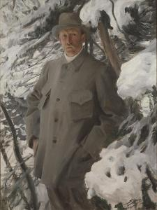 The Painter Bruno Liljefors, 1906 by Anders Leonard Zorn