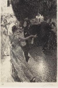 The Waltz, 1891 by Anders Leonard Zorn