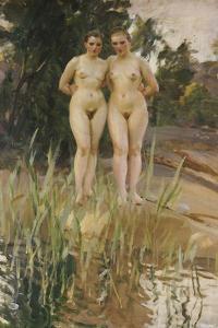 Two Friends by Anders Leonard Zorn
