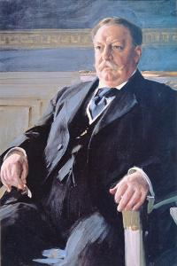 William H. Taft (1857-1930) by Anders Leonard Zorn