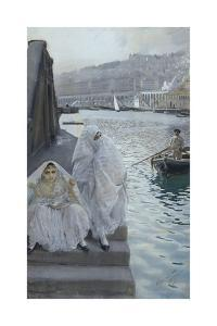 In the Harbour of Algiers by Anders Zorn