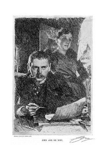 Anders Zorn--Giclee Print