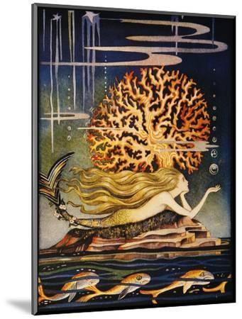 Andersen: Little Mermaid-Jennie Harbour-Mounted Premium Giclee Print