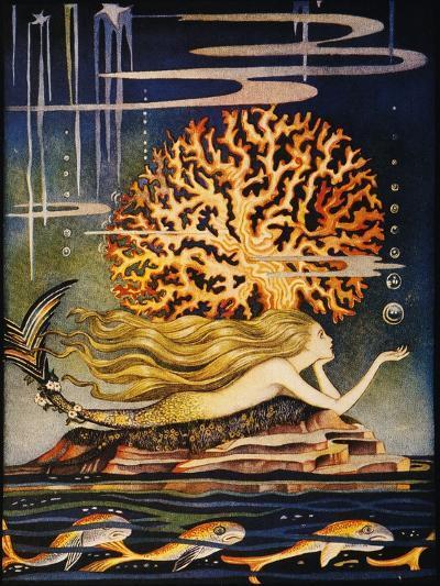 Andersen: Little Mermaid-Jennie Harbour-Giclee Print