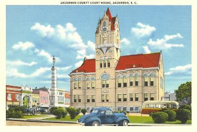 Anderson County Courthouse--Art Print