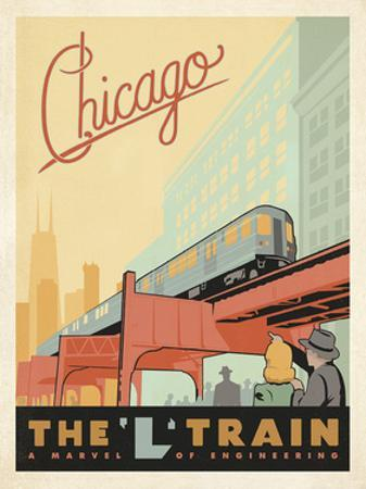 Chicago: The 'L' Train by Anderson Design Group