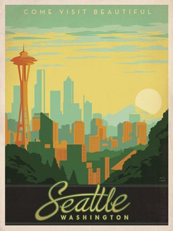 Come Visit Beautiful Seattle, Washington