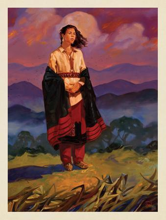 Great Smoky Mountains National Park: Cherokee Woman by Anderson Design Group