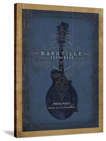 Nashville, Tennessee (Blue Mandolin)