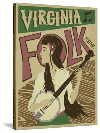 Virginia Folk Poster
