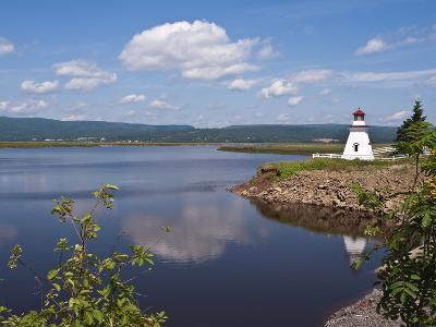 Anderson Hallow Lighthouse in Riverside-Albert, New Brunswick, Canada, North America-Michael DeFreitas-Photographic Print