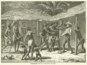 Andersson's Visit to a Bechuana Village